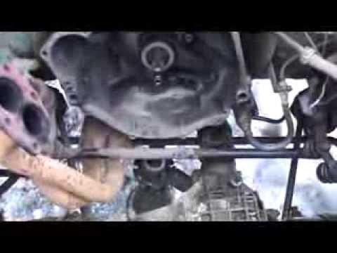 Как снять двигатель на ниве 2121 видео