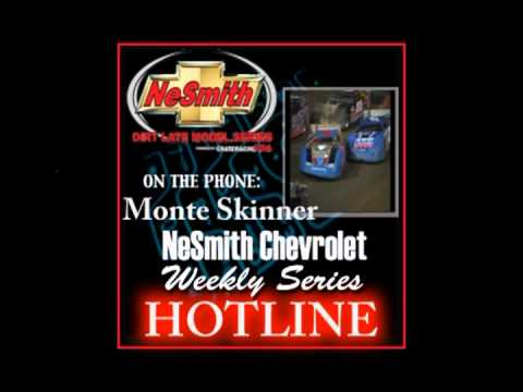 Deep South Speedway's Monte Skinner....NeSmith Weekly Series Hotline
