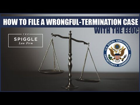 "How To File A Wrongful-Termination Case With the EEOC - ""I Got Fired!"" Show"