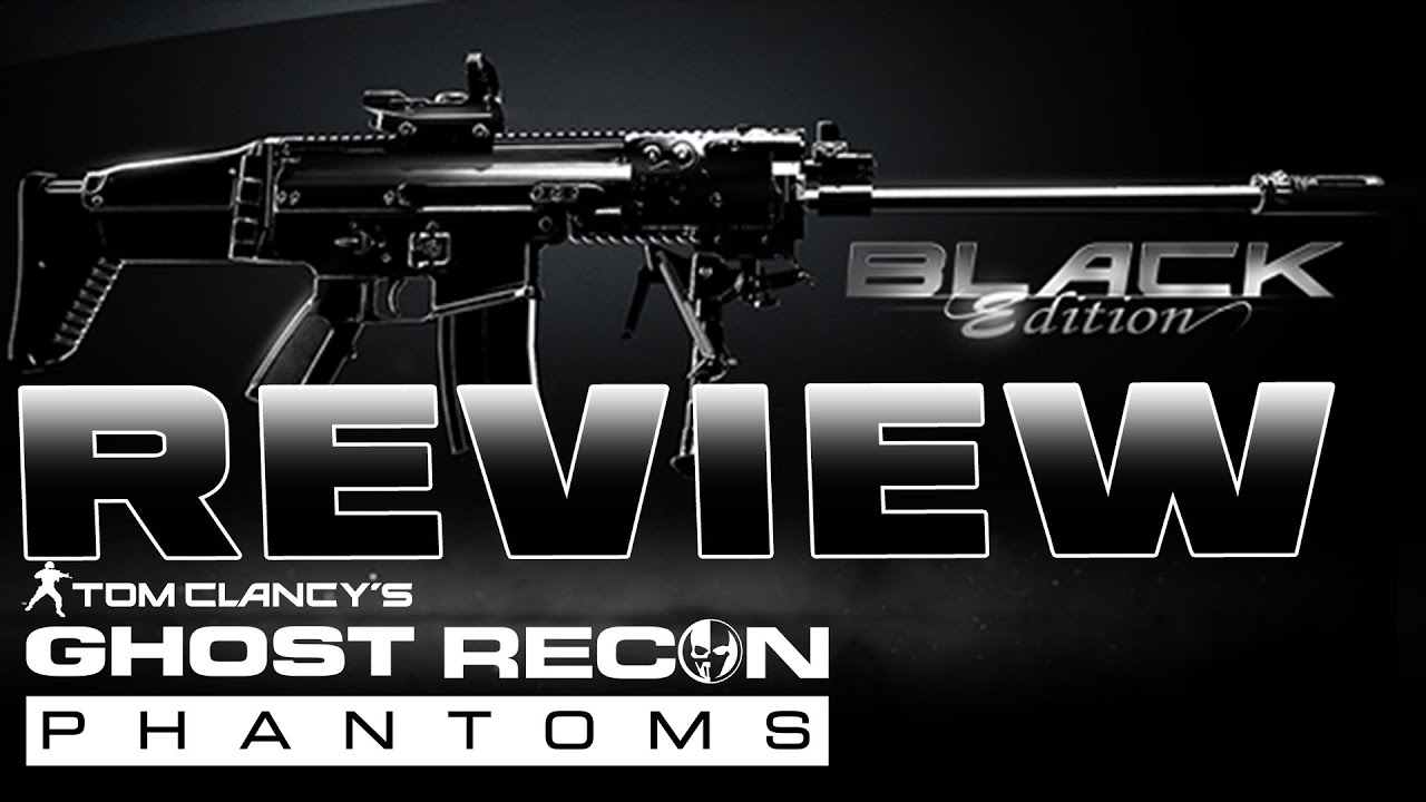 Black weapon pack review tom clancy s ghost recon phantoms youtube