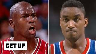MJ still holds a grudge against Isiah Thomas and the Pistons for '91 ECF snub | Get Up