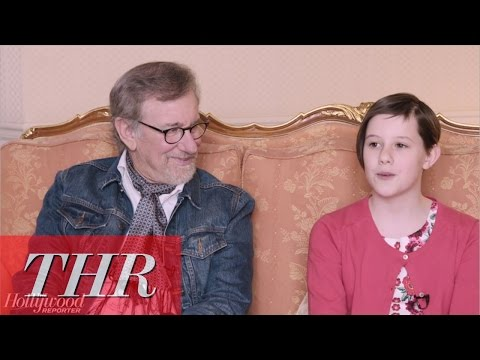 Live From Cannes: Steven Spielberg, Mark Rylance and Ruby Barnhill Talk 'The BFG'