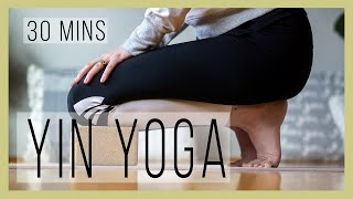 30 minute 🕜 Yin Yoga Sequence for a 😃 Happy 😃 Liver Organ System | YwM 560