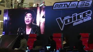 Talk #3 [Jennifer Kim@งานแถลงข่าว The Voice Thailand 2018]