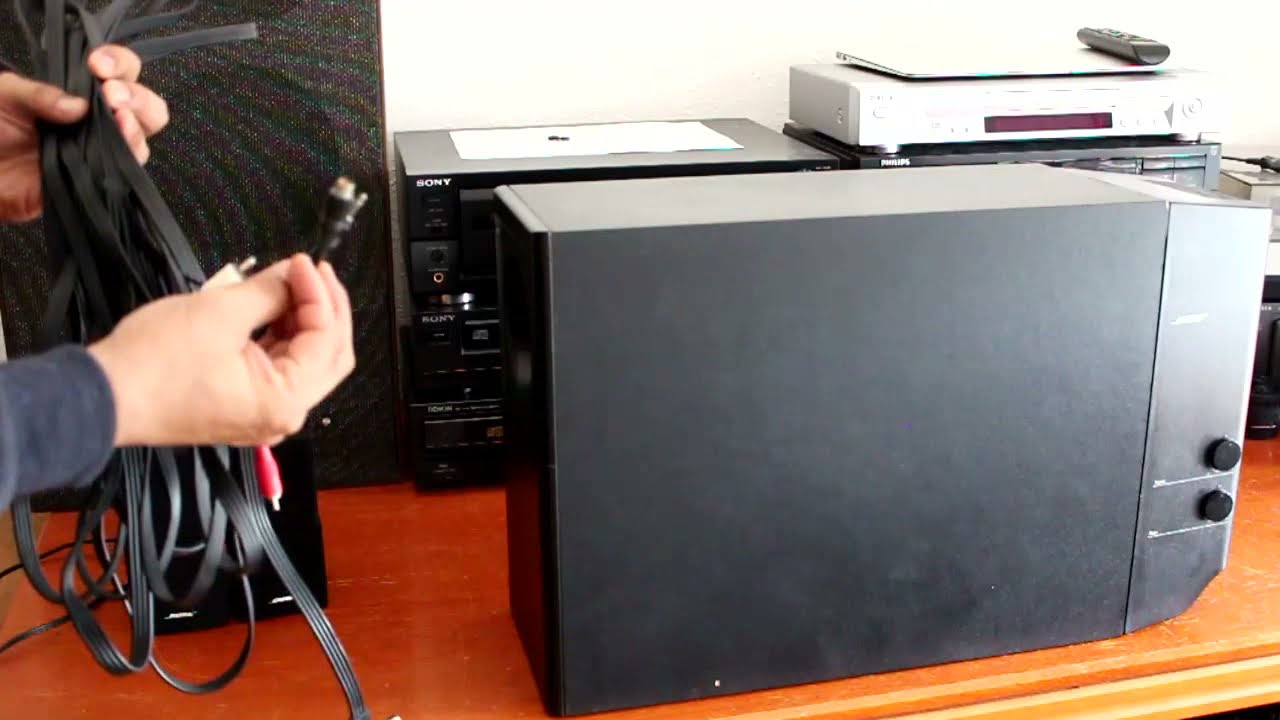 Bose Lifestyle 12 Series II Home Theater Speaker System - YouTubeYouTube