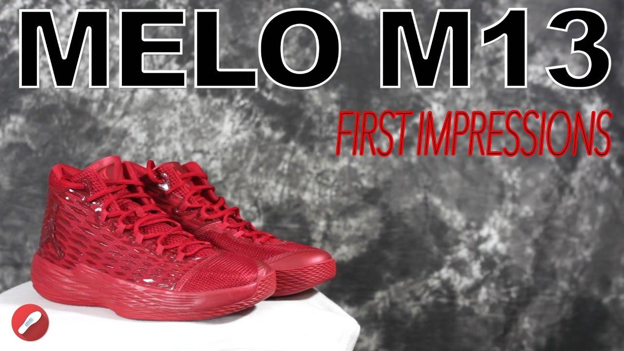 ddf90ace7ed1 Jordan Melo M13 First Impressions! - YouTube