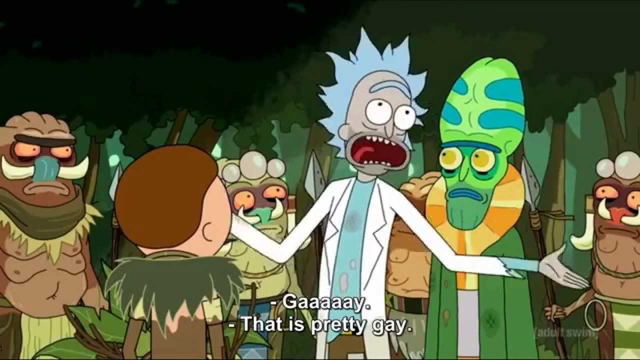 Rick And Morty Quote Wallpaper Rick S 225 Nchez Quot Oh Wow Gaaaay Quot Youtube