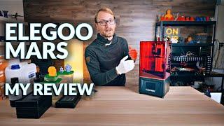 Is resin 3D printing worth it? (Elegoo Mars Review)