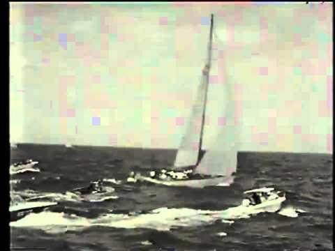 1970 Sydney Hobart Yacht Race Official Cruising Yacht Club of Australia Film