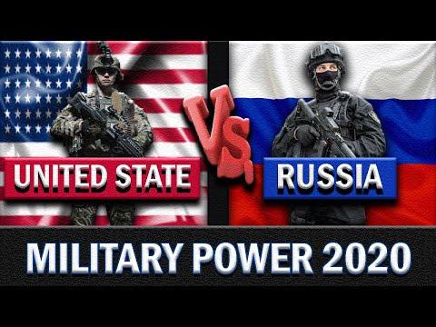 United States Of America Vs Russia Military Power Comparison 2020