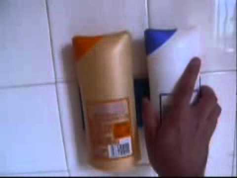 Bathroom Squid Shower Shampoo Holder Suction Strips - Practical ...