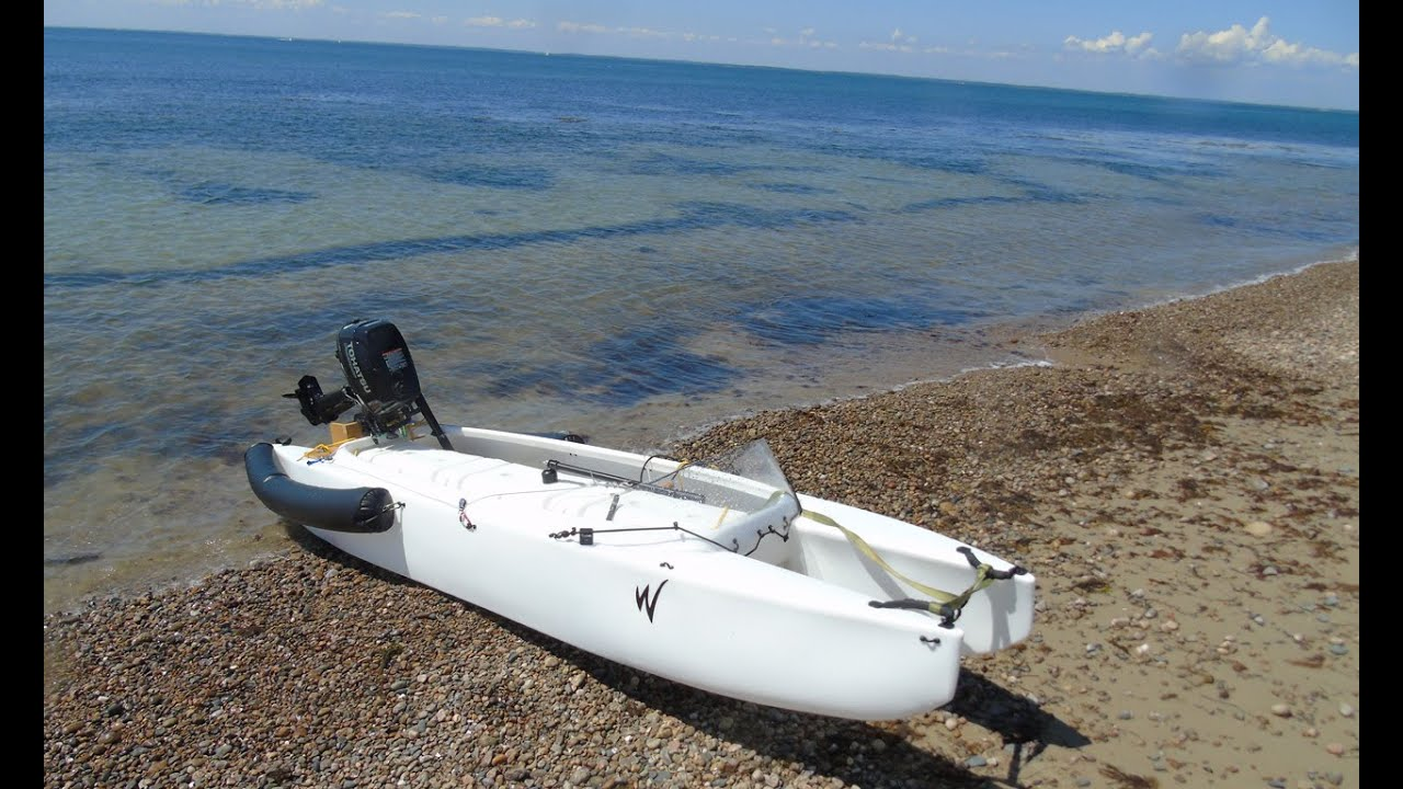 micro skiff – Wavewalk S4 fishing kayak and micro skiff – Texas