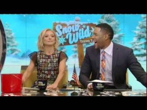 "Live! With Kelly and Michael 02.19.2016 Jeremy Irons (""Race""); Lori Loughlin; toys."