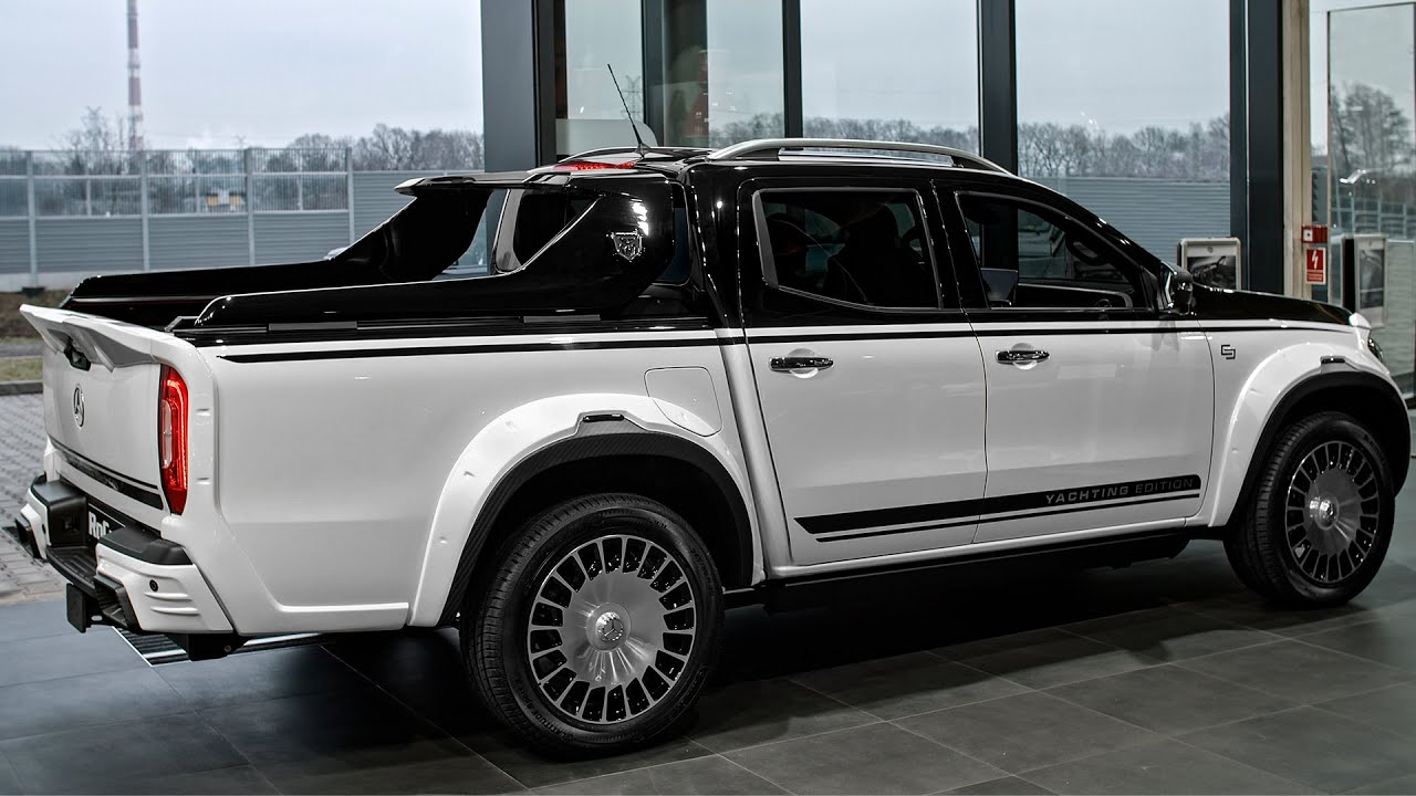 Download Mercedes X Class YACHTING Edition - Maybach Pickup from Carlex Design