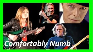 """Comfortably Numb"" Tina S & Pink Floyd & David Bowie - (Complete Version)"