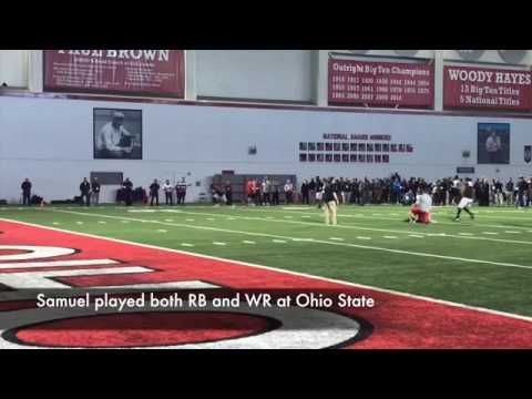 Ohio State Pro Day: Inside Curtis Samuel's workout