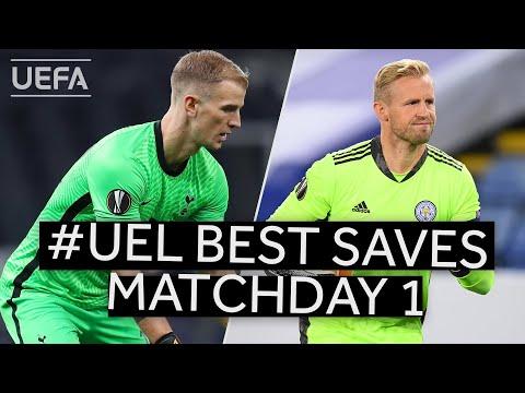 HART, SCHMEICHEL: #UEL BEST SAVES, Matchday 1