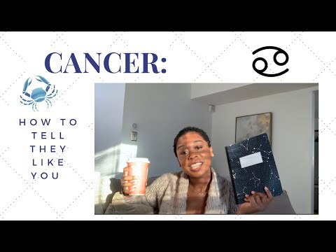 Signs A Cancer Likes You!