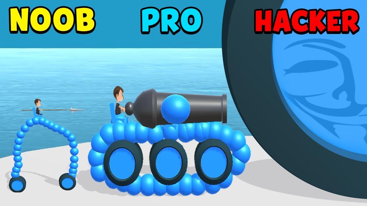 Download NOOB vs PRO vs HACKER - Draw Joust