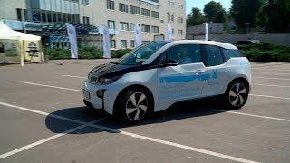 Тестируем электрический BMW i3 2017. Обзор автомобиля