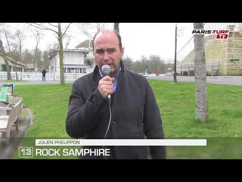Paris-Turf TV - Julien Phelippon : Rock Samphire