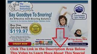 snoring how to stop it | Say Goodbye To Snoring