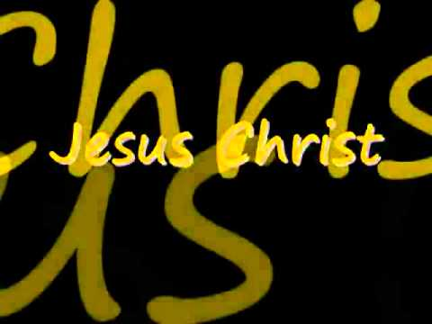 YouTube - Jesus Christ You Are My Life (with Lyrics).flv