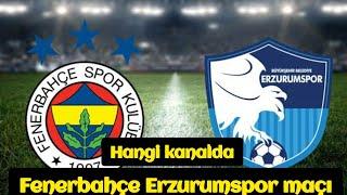 Fenerbahçe erzurumspor maçı - Fenerbahçe erzurumspor - fb erzurumspor maçı - fb erzurumspor