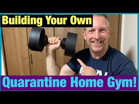 Quarantine Home Gym & Best Adjustable Dumbbells!