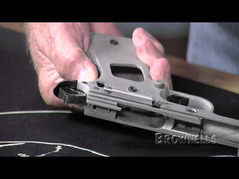 Brownells - Installing A 1911 Grip Safety
