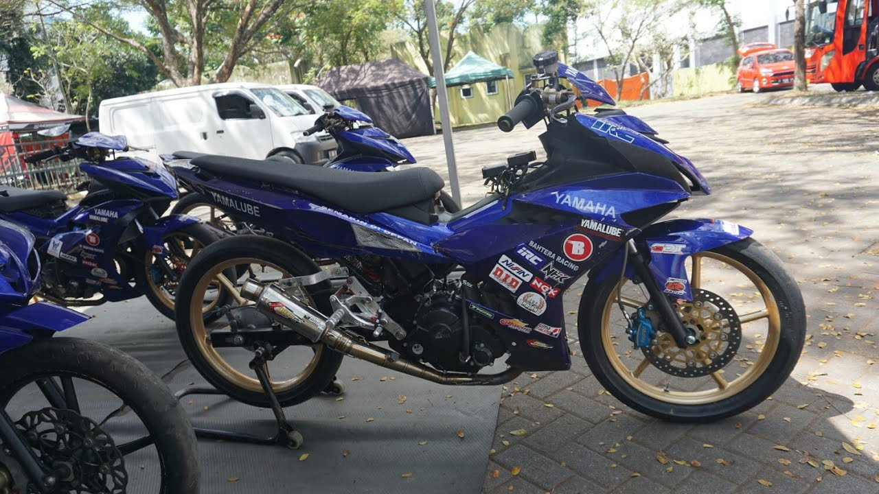 Yamaha Mx King Mp1 Yamaha Bahtera Racing Youtube