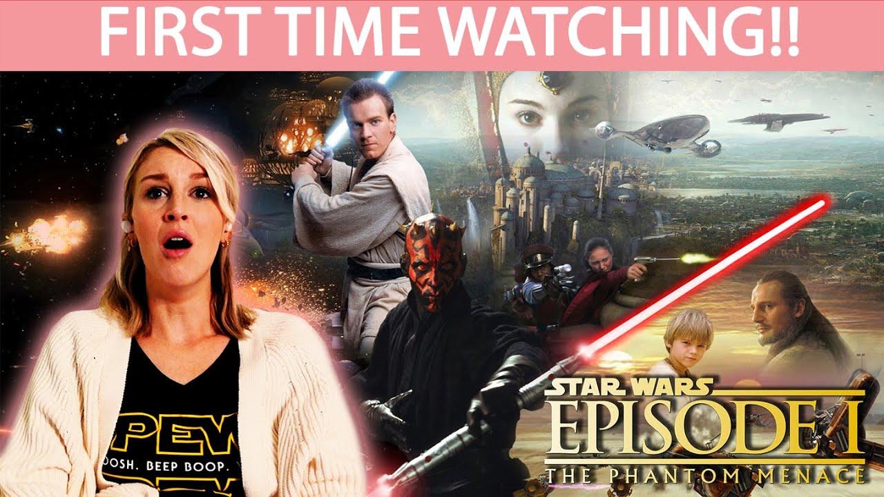 STAR WARS EPISODE I: THE PHANTOM MENACE (1999)   FIRST TIME WATCHING   MOVIE REACTION