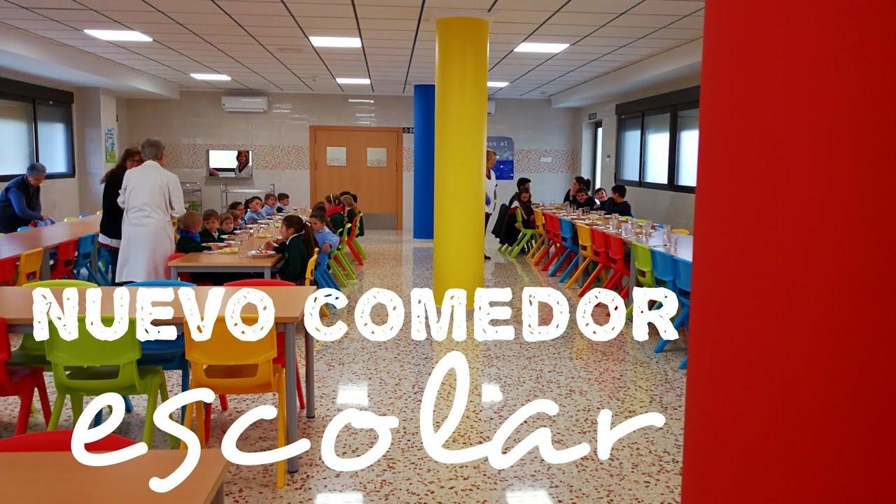 Nuevo comedor escolar - Colegio San Enrique