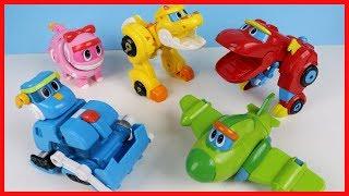 幫幫龍小恐龍變形玩具汽車,快來看它們如何變身! thumbnail