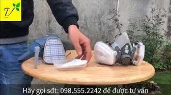 Mặt nạ chống độc 3M 6200-7502 giá tốt nhất thị trường