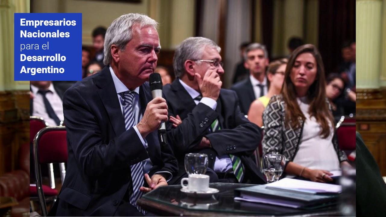 Leo Bilanski ENAC exposición en el Senado