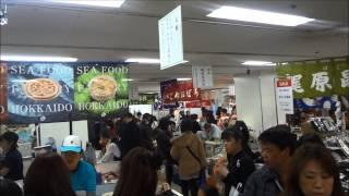 名古屋三越の大北海道展の様子