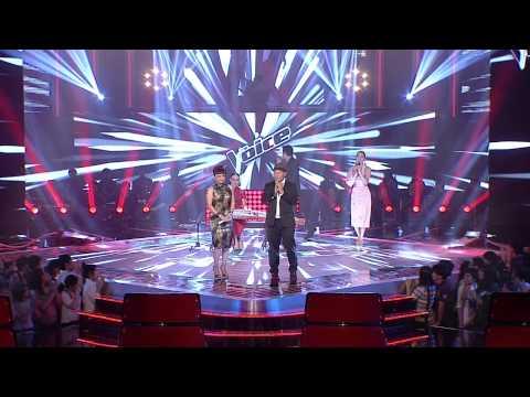 The Voice Thailand - โชว์โค้ชเจนนิเฟอร์ คิ้ม และ นัท กฤษดา - The Moon Represents My Heart