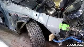Mercedes-Benz E-class W210:Кузовной ремонт. Body Repair.