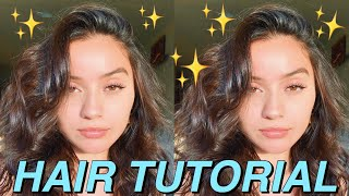 My Hair Care Routine + How I Style My Hair! ✨