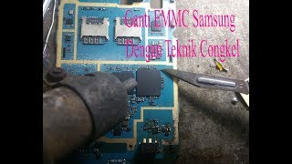 Simpel Replace EMMC samsung j1ace j110h Cara mudah ganti EMMC samsung j1ace j110h part1