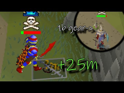 923m Gear 1 Hitting and MORE (40m+ Loot!) - Osrs Pking & Moneymaking 2019