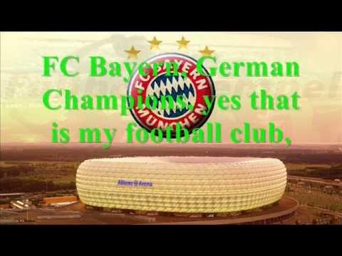 FC Bayern song english lyrics