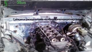 видео Ваз шумоизоляция двигателя. Шумоизоляция моторного щита ВАЗ 2110 (внешняя)