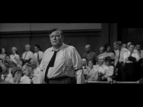 Orson Welles as Clarence Darrow in Compulsion