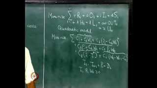 Mod-03 Lec-08 Aggregate Planning, Quadratic model, Demand and capacity planning