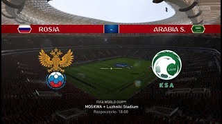 MŚ 2018 | World Cup 2018 | Rosja - Arabia Saudyjska | Russia - Saudi Arabia | FIFA 18
