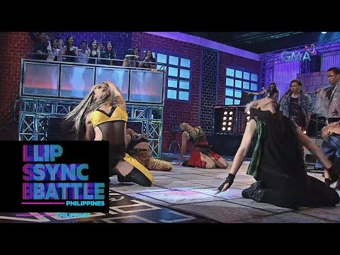 Lip Sync Battle Philippines: Martin del Rosario after performing Christina Aguilera's
