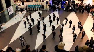 "flashmob ""men in black"" 01.12.12"