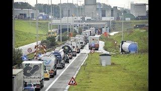 Hinder op de E34 na ongevallen aan Beverentunnel